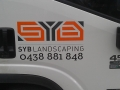 Vinyl Cut Lettering Logo